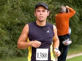 Andreas Lubitz participa en el maratón Airportrace de Hamburgo el 13 de septiembre de 2009.