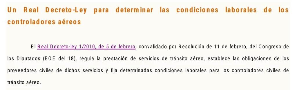 El Real Decreto Ley que liquidaba un Convenio Colectivo por primera vez en la historia de España