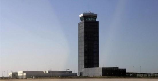 El aeropuerto de Ciudad Real es uno de los aeródromos privados que permanecen vacíos. - Foto Europa Press