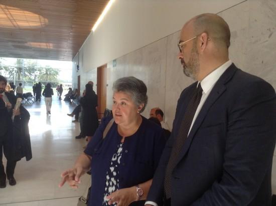 Pilar Vera logra el reconocimiento internacional a las víctimas aéreas