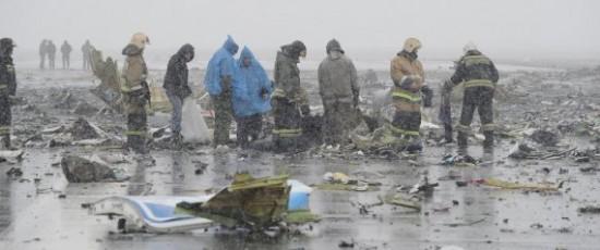 Lo que se sabe por ahora del accidente de avión de Flydubai en Rusia