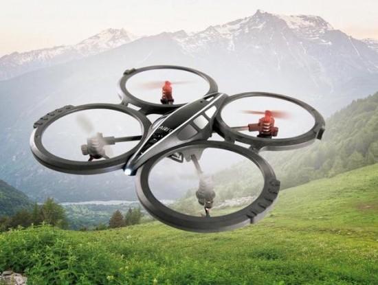 Dron-volando