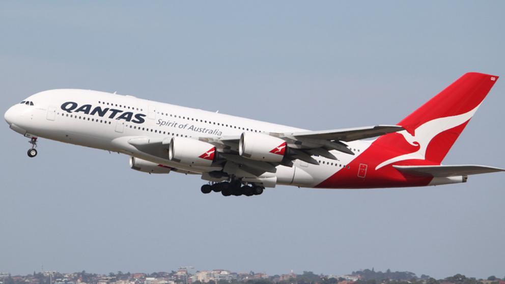 Un avión de la aerolínea Qantas (Flickr / jeremyg3030)