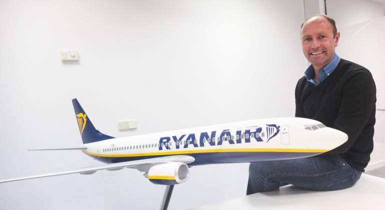 Kenny Jacobs, director de marketing de Ryanair