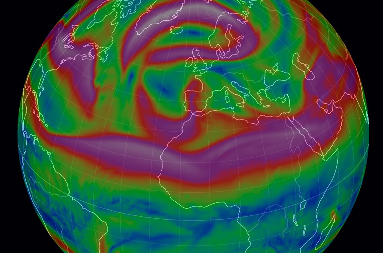 El Jet Stream: la gran corriente atmosférica.