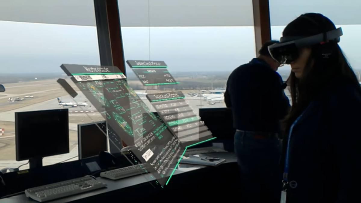 ¿Realidad virtual para controlar el tráfico aéreo?