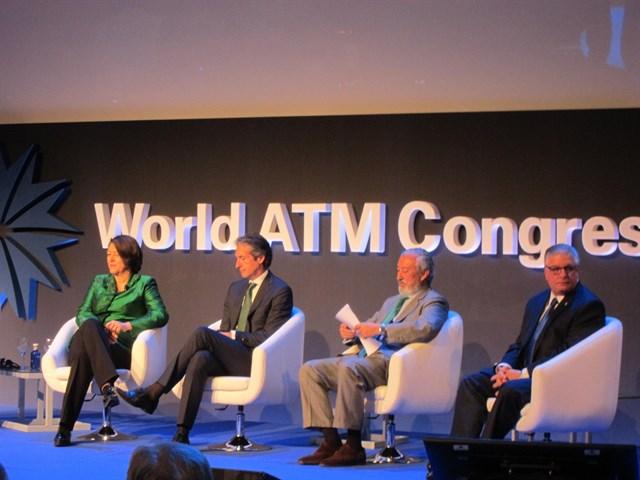 El Ministro Iñigo de la Serna en el World ATM Congress