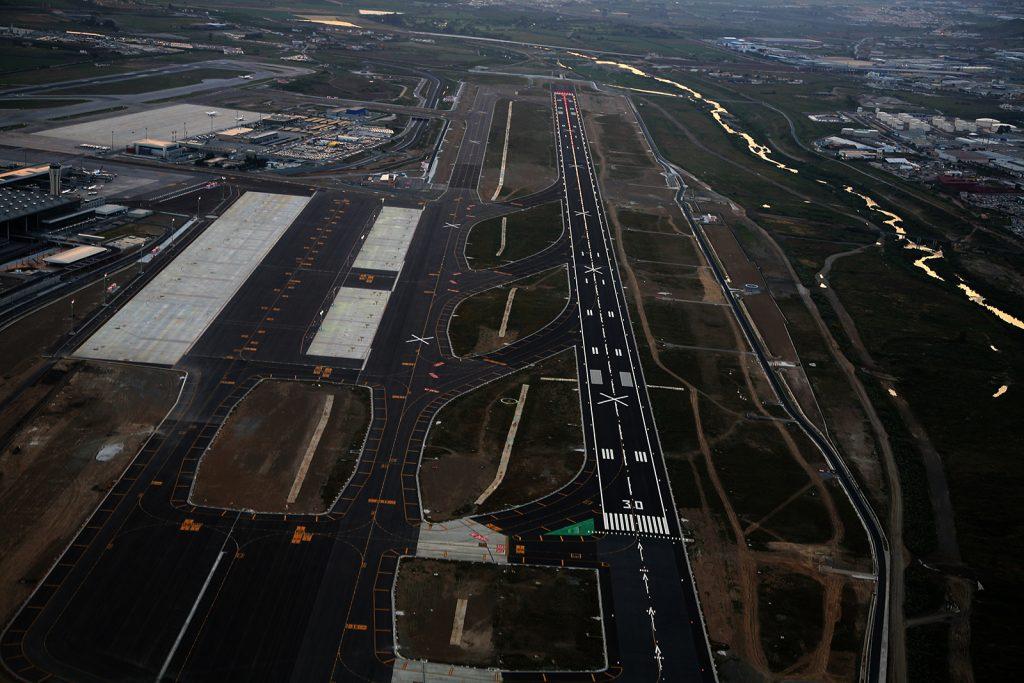 Segunda pista del Aeropuerto de Málaga-Costa del Sol