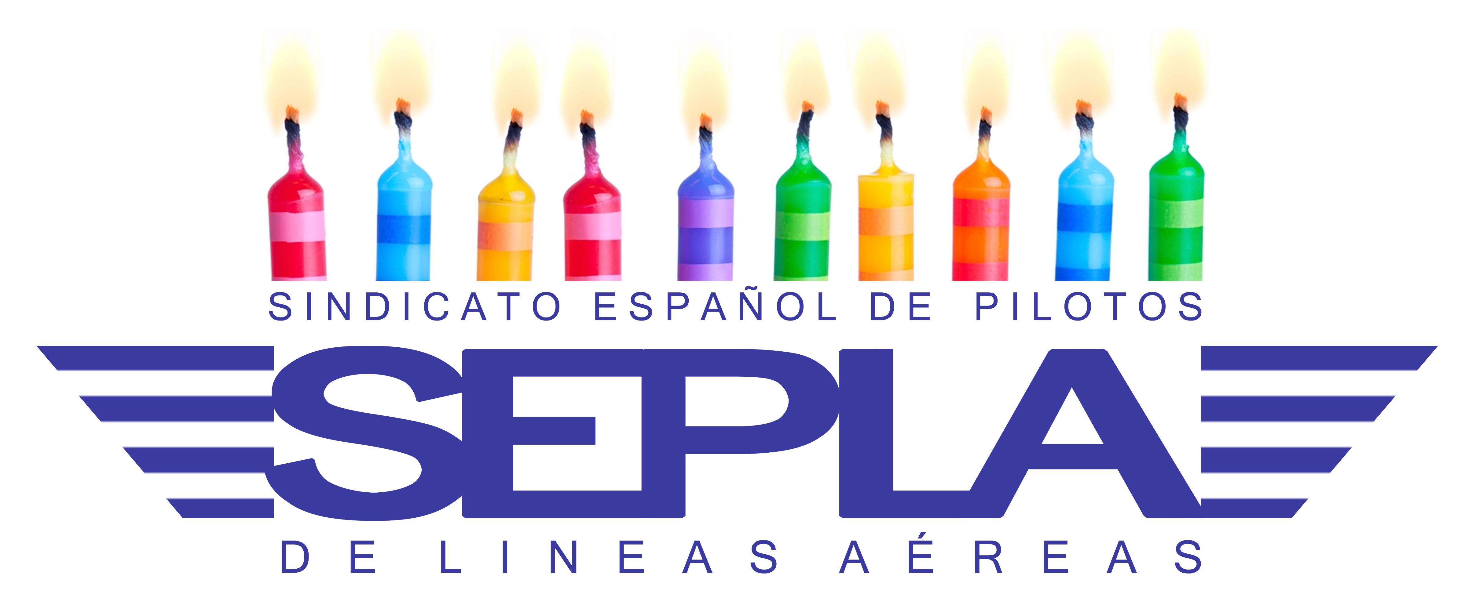 Los controladores aéreos felicitamos a SEPLA por su 52 cumpleaños