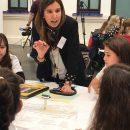 Una controladora aérea entre las profesionales que participaron en la iniciativa 'Inspiring girls' en Málaga