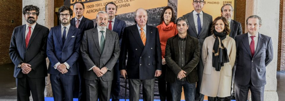 """El Rey D. Juan Carlos inaugura la exposición """"La Conquista del aire"""""""