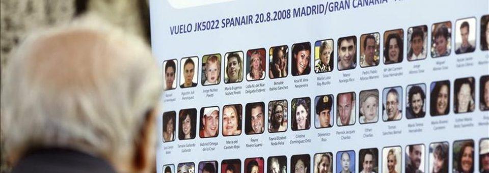 La desclasificación de los papeles del accidente de Spanair, a la Audiencia Nacional