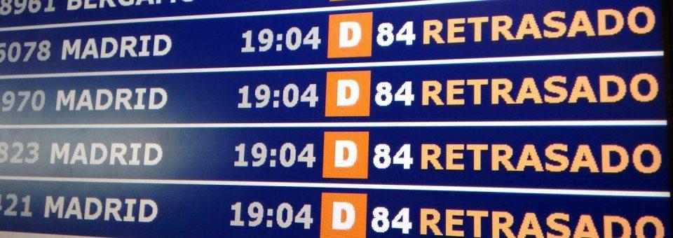 En PREFERENTE: Los retrasos aéreos triplican ya los objetivos de Europa