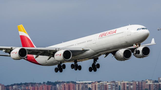 Un Brexit sin acuerdo podría impedir a Iberia volar dentro de España