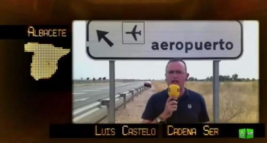 """""""El follonero"""" denuncia los aeropuertos fantasmagóricos españoles"""